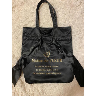 メゾンドフルール(Maison de FLEUR)のメゾンドフルール リボン トート(トートバッグ)