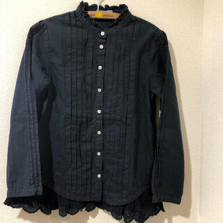 ゴートゥーハリウッド(GO TO HOLLYWOOD)のゴートゥーハリウッドビンテージローンドレスシャツ140(ブラウス)