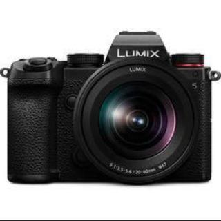 パナソニック(Panasonic)のPanasonic LUMIXDC-S5K-Kミラーレス一眼カメラ レンズキット(ミラーレス一眼)
