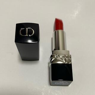 ディオール(Dior)の【新品】ルージュディオール 999 ミニサイズ(口紅)