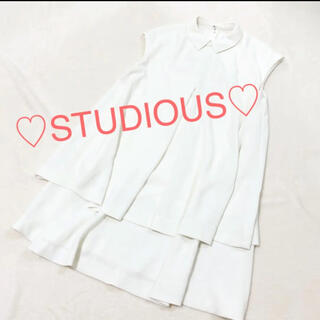 STUDIOUS - 重ね着 / ロングシャツ / チュニック