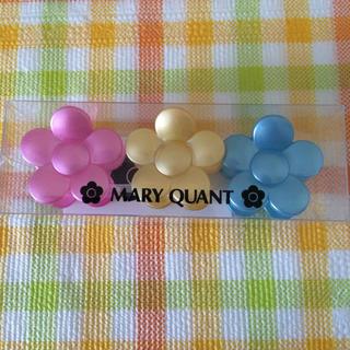 マリークワント(MARY QUANT)のヘアクリップ3個セット(バレッタ/ヘアクリップ)