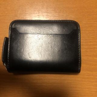 ツチヤカバンセイゾウジョ(土屋鞄製造所)の万双 ラウンドミニ財布 ブラック(折り財布)