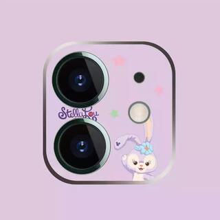 ステラルー(ステラ・ルー)の新品iPhone12miniカメラフィルムステラルーダッフィレンズ保護ディズニー(iPhoneケース)