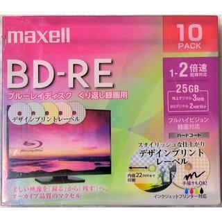 マクセル(maxell)のMaxell BD-RE 25GB 10枚 ブルーレイディスク 繰り返し録画用(ブルーレイレコーダー)