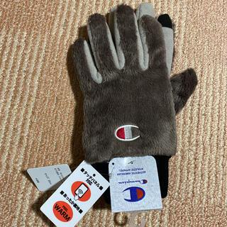 チャンピオン(Champion)のタイムSALE❣️【新品】⭐️champion ボア手袋⭐️スマホ対応⭐️(手袋)