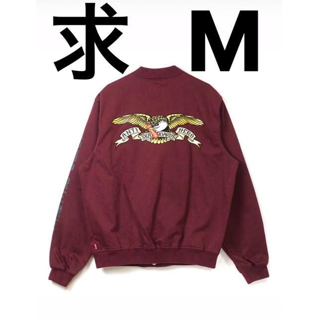 Supreme(シュプリーム)の求 supreme antihero bomber jacket メンズのジャケット/アウター(その他)の商品写真