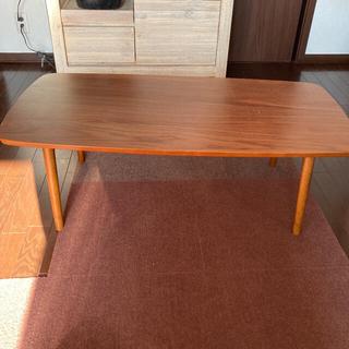 ローテーブル カフェテーブル センターテーブル ウォルナット折りたたみ (ローテーブル)