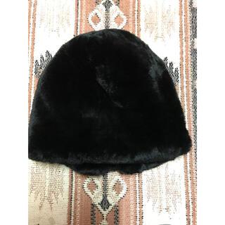 トゥモローランド(TOMORROWLAND)のミュールバウアー ファー 帽子(ニット帽/ビーニー)