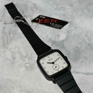 アルバ(ALBA)の金属ベルト レトロなALBA 三針時計 ZEN(腕時計)