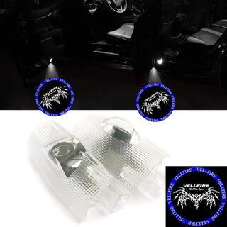 20系 30系 50系トヨタ ヴェルファイア カーテシランプ LEDロゴ投影 ド(天井照明)