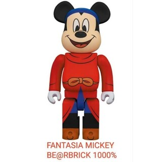 BE@RBRICK FANTASIA MICKEY 1000%(その他)