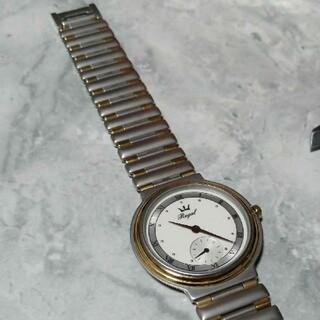 レトロな 薄型 三針時計 ROYAL(腕時計)