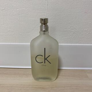シーケーカルバンクライン(ck Calvin Klein)のCK one  香水50ml(ユニセックス)