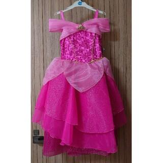 Disney - ディズニープリンセス キッズ ドレス オーロラ姫 130