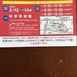 サンヨー(SANYO)の三陽商会 SANYO ファミリーセール 招待状(ショッピング)