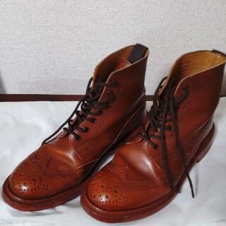 トリッカーズ(Trickers)のTrickers L5676 STEPHY / MARRON レザーソール(ブーツ)
