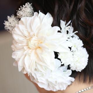 結婚式 ヘアアクセサリー 髪飾り(ヘッドドレス/ドレス)