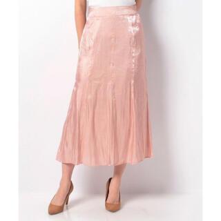 ナイスクラップ(NICE CLAUP)のナイスクラップ 血色カラー マーメイドスカート フリーサイズ(ロングスカート)