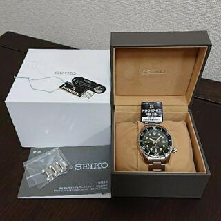 セイコー(SEIKO)のセイコー プロスペックス スモウ SBDC081 腕時計 自動巻き グリーン(腕時計(アナログ))