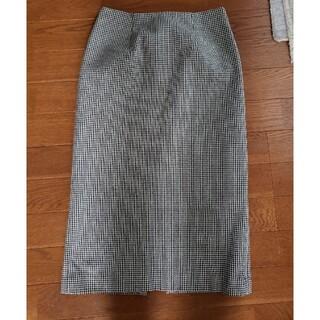 エムプルミエ(M-premier)のBLENHEIM シンプルタイトスカート(ロングスカート)