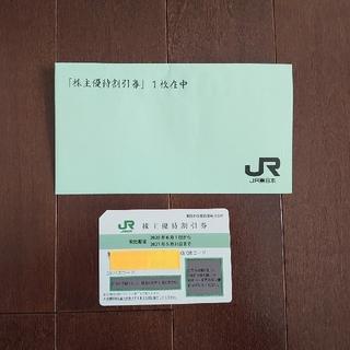 ジェイアール(JR)のJR東日本 株主優待割引券(4割引)  1枚(鉄道乗車券)