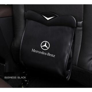 ベンツMercedesBenz-ブラック多機能シートバックバッグ(車内アクセサリ)
