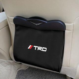 TRD-ブラック多機能シートバックバッグ(車内アクセサリ)