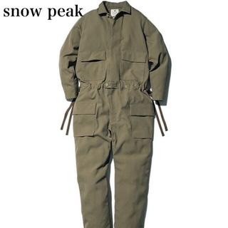 スノーピーク(Snow Peak)の【新品】スノーピーク タキビ スーツ ツナギ カバーオール アウトドア カーキ(カバーオール)