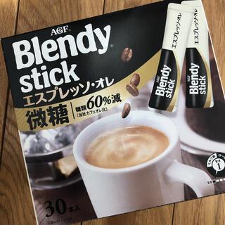エイージーエフ(AGF)の新品 ブレンディスティック エスプレッソオレ 30本(コーヒー)