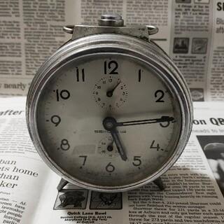 セイコー(SEIKO)の昭和レトロ 精工舎 目覚し時計 セイコー アンティークレトロ SEIKO(置時計)