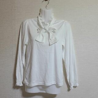 キャサリンコテージ(Catherine Cottage)のフリル リボンタイ トップス(Tシャツ/カットソー)