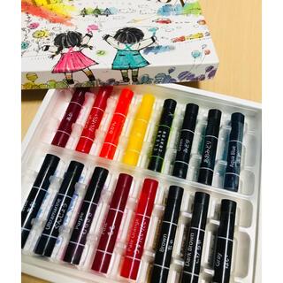コクヨ(コクヨ)のコクヨ 透明くれよん 16色 新品未使用(クレヨン/パステル)