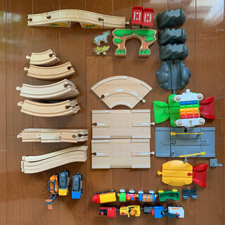 ブリオ(BRIO)のうさ様専用 BRIO ブリオ セット2組+α(知育玩具)