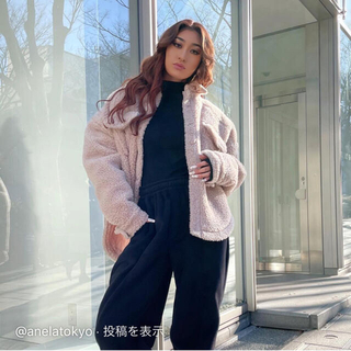 ジェイダ(GYDA)のANELATOKYO ボリュームボアシャツジャケット(その他)