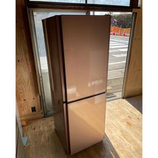 三菱 - 18 MITSUBISHI 2ドア冷蔵庫 MR-HD26X-P 2013年製