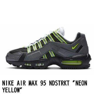"ナイキ(NIKE)のNIKE AIR MAX 95 NDSTRKT ""NEON YELLOW""(スニーカー)"