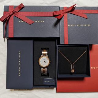 ダニエルウェリントン(Daniel Wellington)のダニエルウェリントン 腕時計 ICONIC LINK LUMINE とネックレス(腕時計)