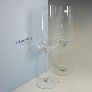 ウェッジウッド(WEDGWOOD)のウェッジウッド シャンパンフルート ペア(シャンパン/スパークリングワイン)