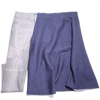 ムジルシリョウヒン(MUJI (無印良品))の[MUJI...] スカート パンツ レディース 2点セット(セット/コーデ)