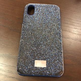 スワロフスキー(SWAROVSKI)のiPhoneXケース スワロフスキー(iPhoneケース)