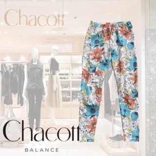 チャコット(CHACOTT)の【美品】Chacott BALANCE チャコット ヨガレギンス 花柄(ヨガ)