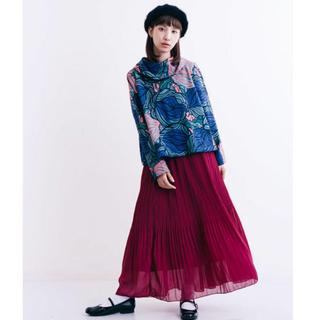 メルロー(merlot)のメルロー 柄シャツ ロングスカート(セット/コーデ)