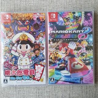 ニンテンドースイッチ(Nintendo Switch)の桃太郎電鉄   マリオカート DELUXE 8     (家庭用ゲームソフト)