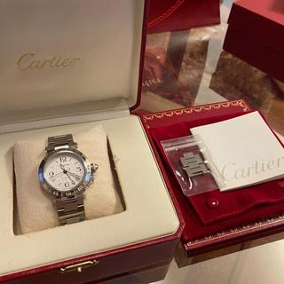 カルティエ(Cartier)のカルティエ パシャ メリディアン 20年12月オーバーホール・ポリッシング済み(腕時計(アナログ))