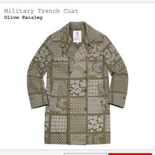シュプリーム(Supreme)のMilitary Trench Coat(トレンチコート)