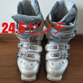 スキーブーツ24.5cm レディース ハート INNOCENCE(ブーツ)