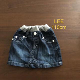 リー(Lee)の【LEE】キッズ デニムスカート 110cm(スカート)