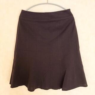 ロートレアモン(LAUTREAMONT)のロートレアモン☆膝丈スカート ダークブラウン2(ひざ丈スカート)