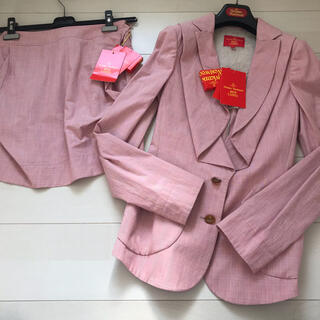 ヴィヴィアンウエストウッド(Vivienne Westwood)の新品 ヴィヴィアンウエストウッド インポートスーツ セットアップ(スーツ)
